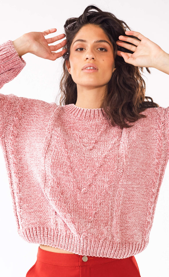 Watching You Well Sweater - Pink Martini Collection