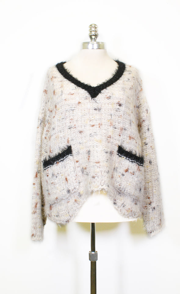 License To Chill Sweater - Pink Martini Collection