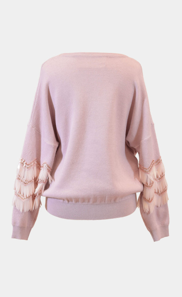 Angel Wings Sweater - Pink Martini Collection