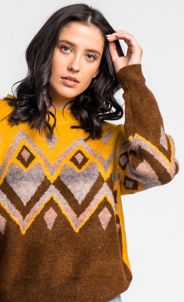 The Sienna Sweater - Pink Martini Collection