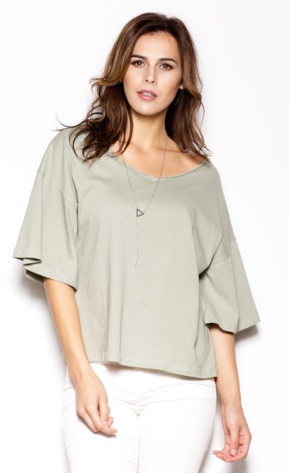 Broad Squad Top Green - Pink Martini Collection