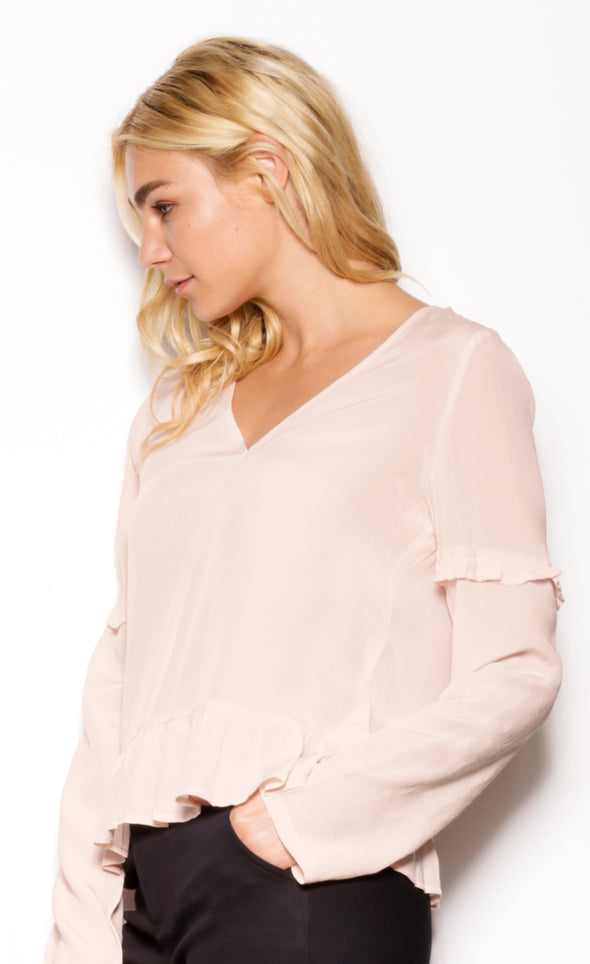Liberty Village Top Light Peach - Pink Martini Collection