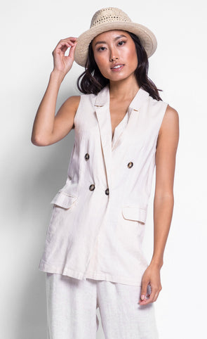 The Lilian Vest - Pink Martini Collection