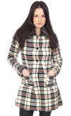 United Plaid Coat - Pink Martini Collection