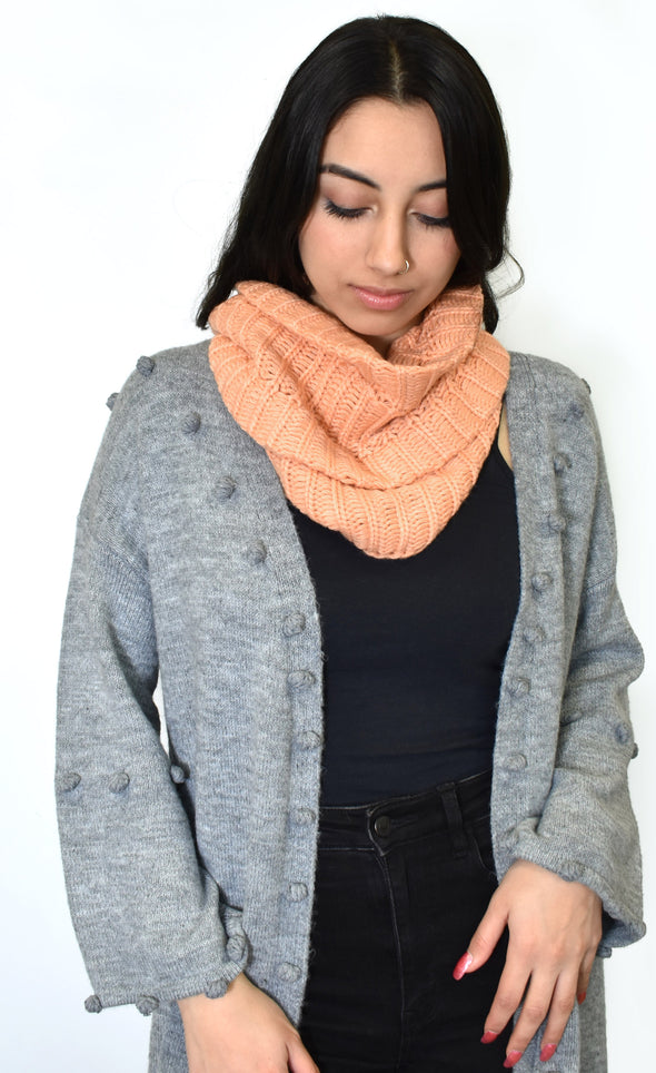 Salmon Scarf - Pink Martini Collection