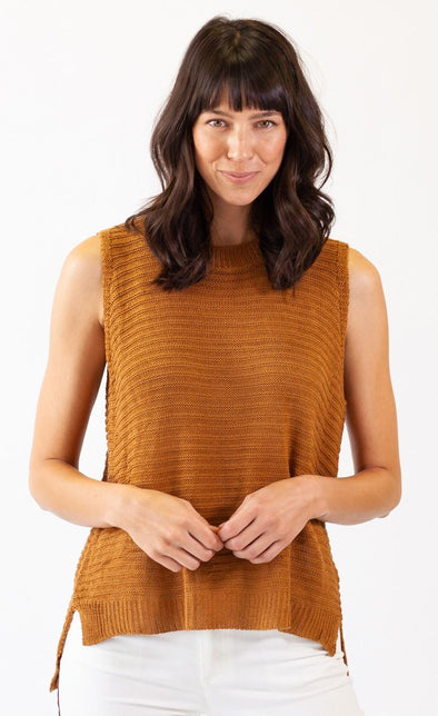 Caramelo Sweater Brown - Pink Martini Collection