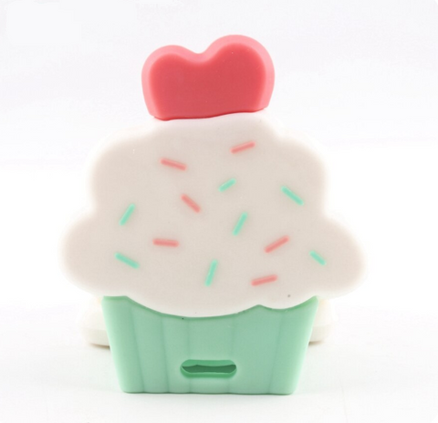 Silicone Cupcake Teether - Chew On This SA