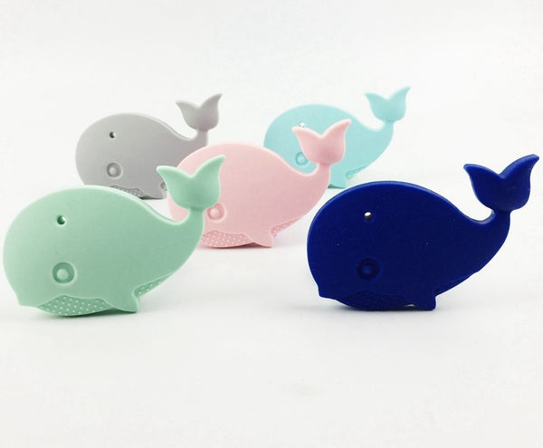 Whale Silicone Teether - Chew On This SA