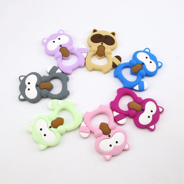 Ricky Raccoon Silicone Teether - Chew On This SA