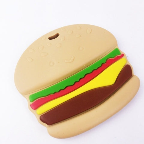 Silicone Hamburger Teether - Chew On This SA