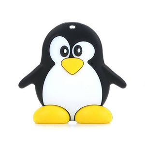 Silicone Penguin Teether - Chew On This SA