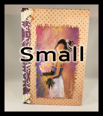 Small Book of girl with fllowers
