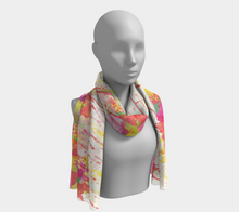 Paint Splattered Scarf