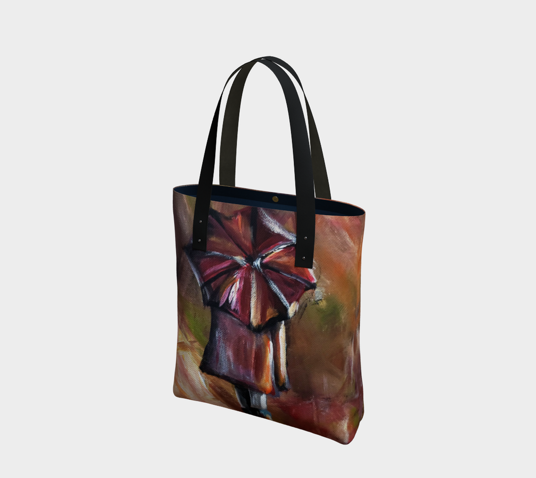 Her Umbrella Tote Bag