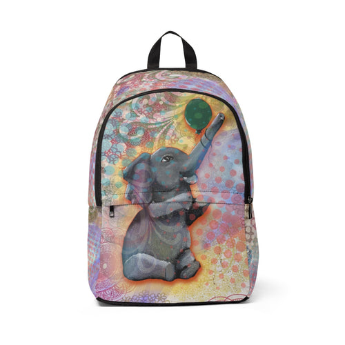 Elephant Backpack with zipper