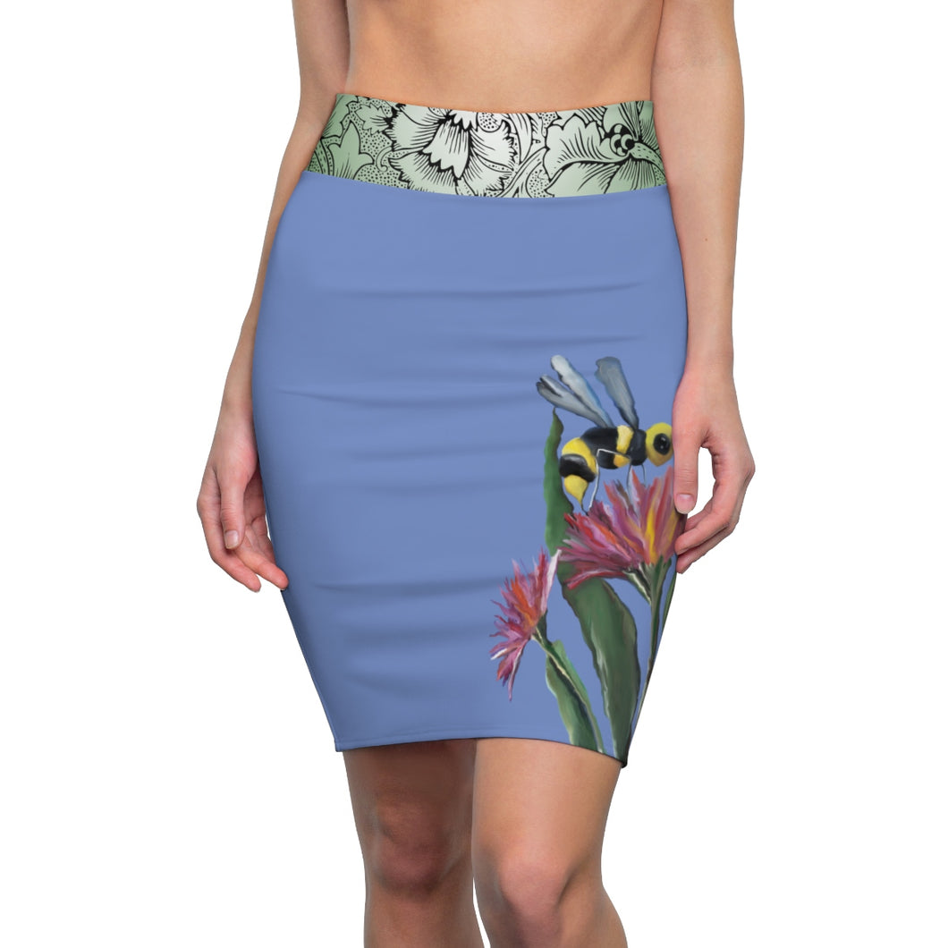 Bumblebee Pencil Skirt
