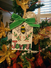 Bee Joyful Wood Ornament