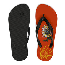 Sunflower Flip-Flops
