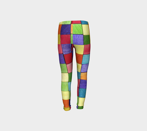 Colorful Checkers  Stretch Pants