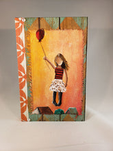Balloon Girl. Medium Fine Art Book