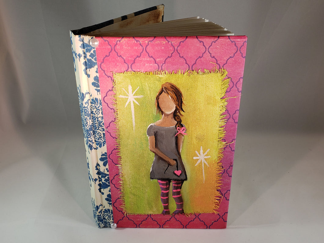 Girl with Heart String. Medium Fine Art Book