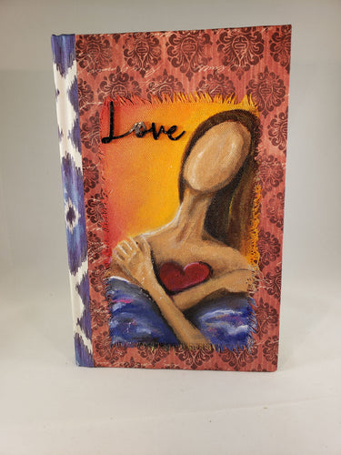 Her Heart. Medium Fine Art Book
