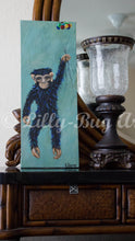 Happy Flying Monkey - Original Fine Art Painting