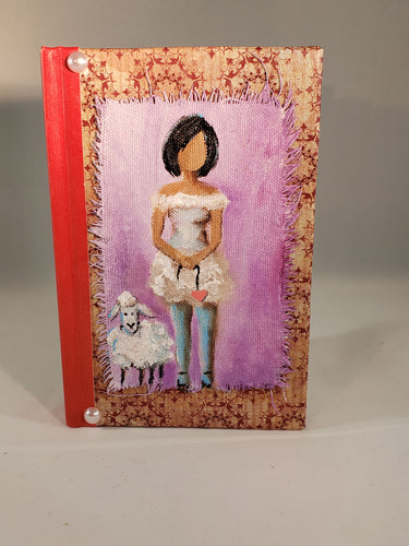 Her Sheep.  Small Fine Art Book