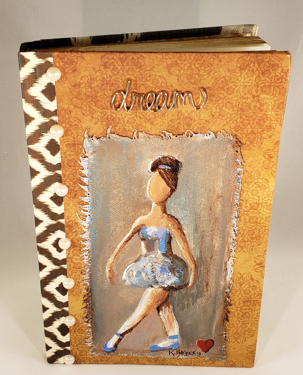 Ballerina. Medium Fine Art Book