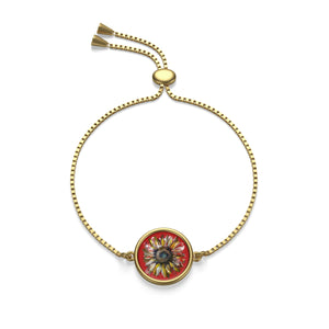 Sunflower Box Chain Bracelet