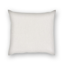 Linen Throw Square Pillow Covers and Cotton Insert