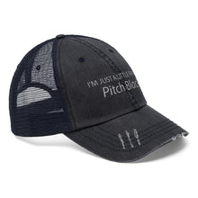 Ptich Black Trucker Hat