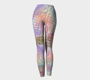 Color Splash Stretch Pants