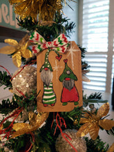 Happy Gnome Wood Ornament