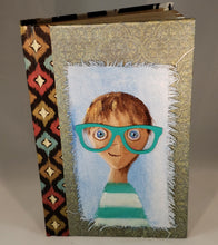 Green glasses.  Medium Fine Art Book