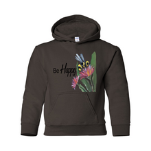 Be Happy Hooded Sweatshirt
