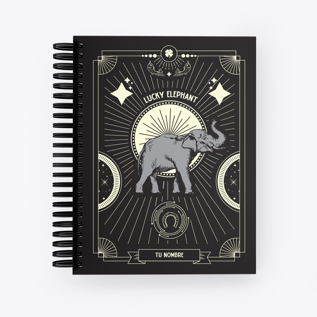 Lucky Notebook Elephant