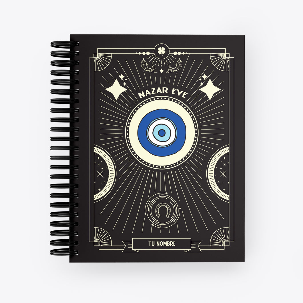 Lucky Notebook Nazar Eye