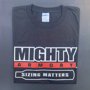 "Mighty Armory ""Sizing Matters"" T-Shirt"