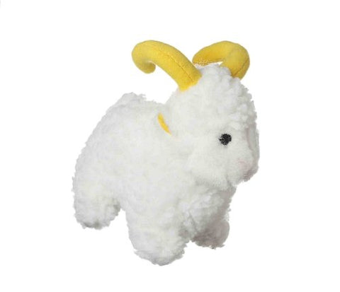 Multipet Look Who's Talking Plush Sheep 6-Inch Dog Toy