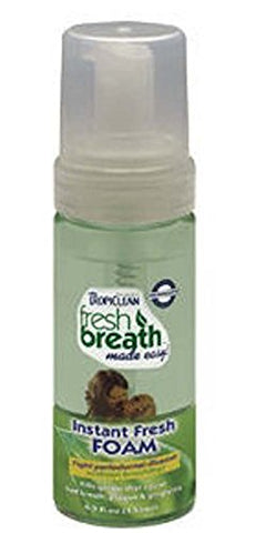 Tropiclean Fresh Mint Dental Foam