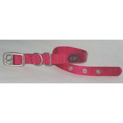 "Dog Collar [Set of 4] Size: 14"", Color: Pink"