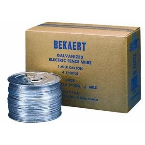 BEKAERT 119752 1/4 Mile Electric Fence Wire