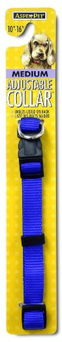 Petmate Adjustable Collar, 5/8 by 10 by 16-Inch, Blue