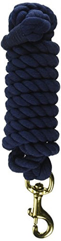 "PARTRADE 248120\556013 Cotton Horse Lead, 3/4"" by 10', Navy"