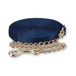 Lunge Line with Chain Single Color: Navy