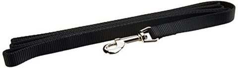 Coastal Pet Products DCP406Black Nylon Collar Lead for Pets, 5/8-Inch by 6-Feet, Black