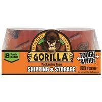 The Gorilla Glue Company 6030402 35 Yard Clear Packaging Tape 2-Pack Refills