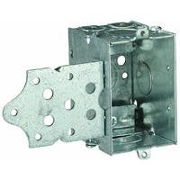 Thomas & Betts 806-SW Pre-Galvanized Steel 1-Gang Gangable Switch Box 2 Inch x 3 Inch x 2-1/2 Inch 12.5 Cubic-Inch Steel City