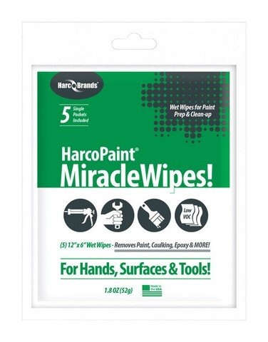 MULTIPURP WIPES 5CT by HARCO PAINT MfrPartNo 3348